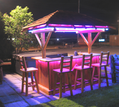 Atponds Furniture Tropical Paradise Tiki Bar