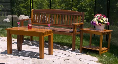 Atponds Red Cedar Patio Furniture, Cedar Patio Furniture